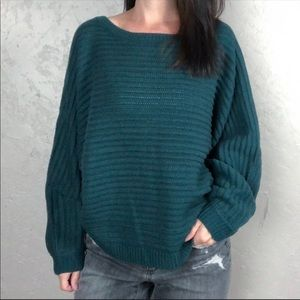 NWT Moon & Madison Cropped Sweater Dolman Sleeve